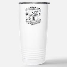 Vintage Whiskey Girl Travel Mug