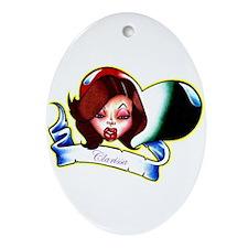 Clarissa Oval Ornament