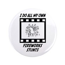"Fireworks Stunts 3.5"" Button (100 pack)"