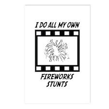 Fireworks Stunts Postcards (Package of 8)