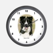Border Collie 9Y411D-009 Wall Clock