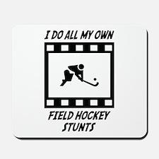 Field Hockey Stunts Mousepad