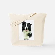 Border Collie 9A015D-24 Tote Bag