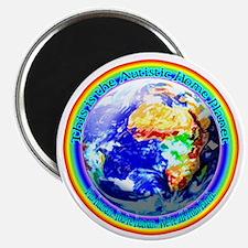 Autistic Planet Magnet