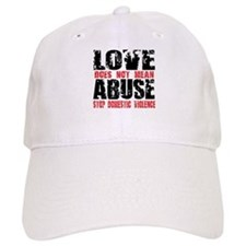 Love Does Not Mean Abuse Baseball Cap