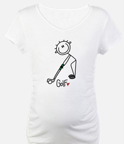 Stick Figure Basketball Shirt