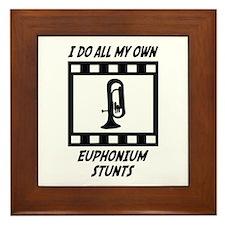 Euphonium Stunts Framed Tile