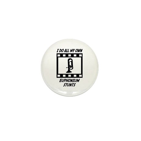 Euphonium Stunts Mini Button