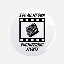 "Engineering Stunts 3.5"" Button"