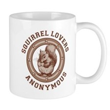 Squirrel Lovers Small Mug