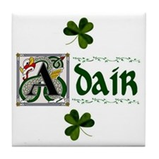 Adair Celtic Dragon Ceramic Tile
