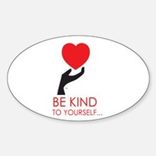 Just BeKind... Oval Decal