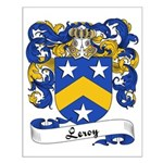 Leroy Family Crest Small Poster