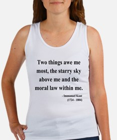 Immanuel Kant 5 Women's Tank Top
