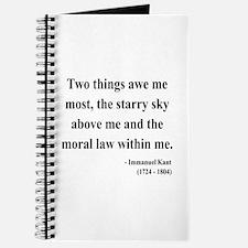 Immanuel Kant 5 Journal