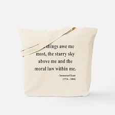 Immanuel Kant 5 Tote Bag