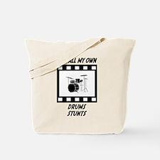 Drums Stunts Tote Bag
