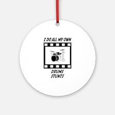 Drums Stunts Ornament (Round)