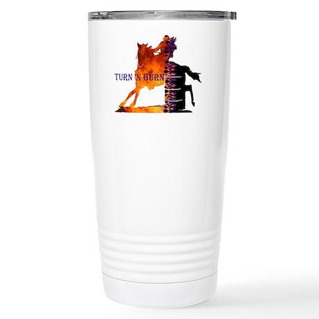 Turn N Burn Stainless Steel Travel Mug