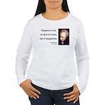 Immanuel Kant 6 Women's Long Sleeve T-Shirt