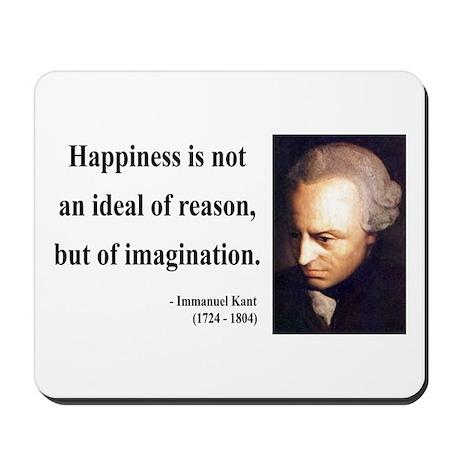 Immanuel Kant 6 Mousepad