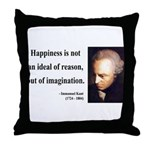 Immanuel Kant 6 Throw Pillow