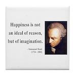 Immanuel Kant 6 Tile Coaster