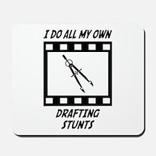 Drafting Stunts Mousepad