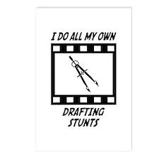 Drafting Stunts Postcards (Package of 8)