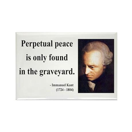 Immanuel Kant 7 Rectangle Magnet