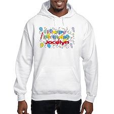 Happy Birthday Jocelyn Hoodie Sweatshirt