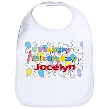 Happy Birthday Jocelyn Bib