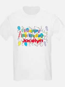 Happy Birthday Jocelyn T-Shirt