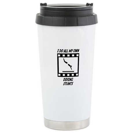 Diving Stunts Stainless Steel Travel Mug