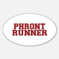Philly Frontrunner Oval Decal