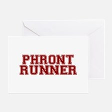 Philly Frontrunner Greeting Card