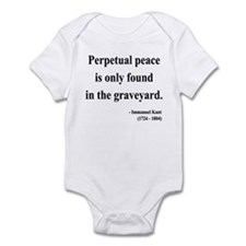 Immanuel Kant 7 Infant Bodysuit