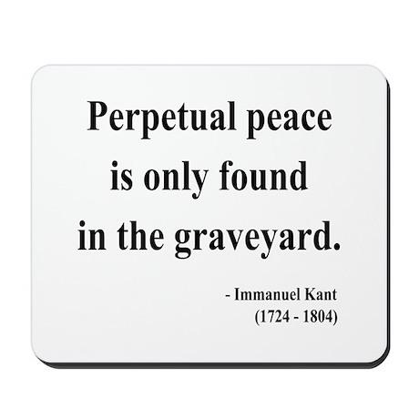 Immanuel Kant 7 Mousepad