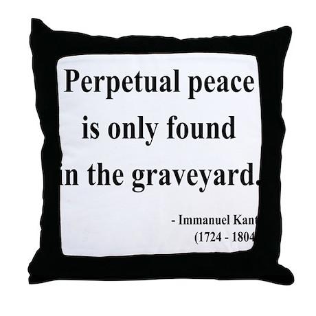 Immanuel Kant 7 Throw Pillow