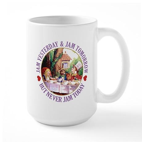MAD HATTER'S DIET RULE Large Mug
