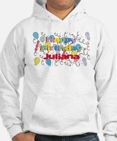 Happy Birthday Juliana Hoodie Sweatshirt