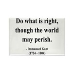 Immanuel Kant 8 Rectangle Magnet (100 pack)
