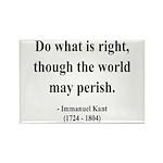 Immanuel Kant 8 Rectangle Magnet (10 pack)