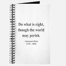 Immanuel Kant 8 Journal