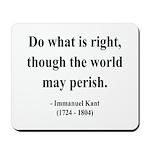 Immanuel Kant 8 Mousepad