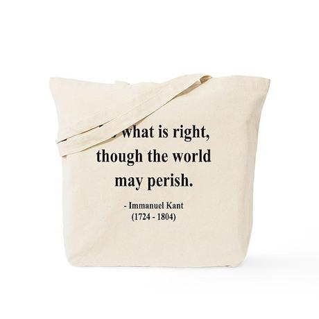 Immanuel Kant 8 Tote Bag