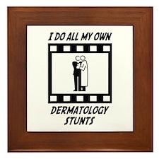 Dermatology Stunts Framed Tile
