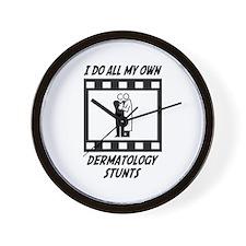 Dermatology Stunts Wall Clock