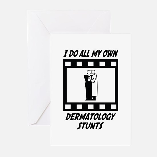 Dermatology Stunts Greeting Cards (Pk of 10)
