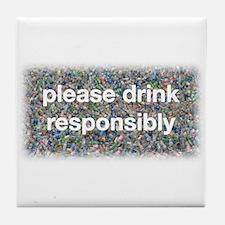 Plastic Free Tile Coaster